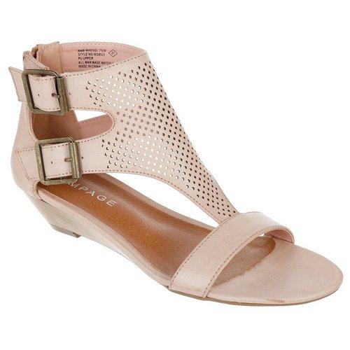 Whendi Wedge Sandals - Natural 6448ffad0