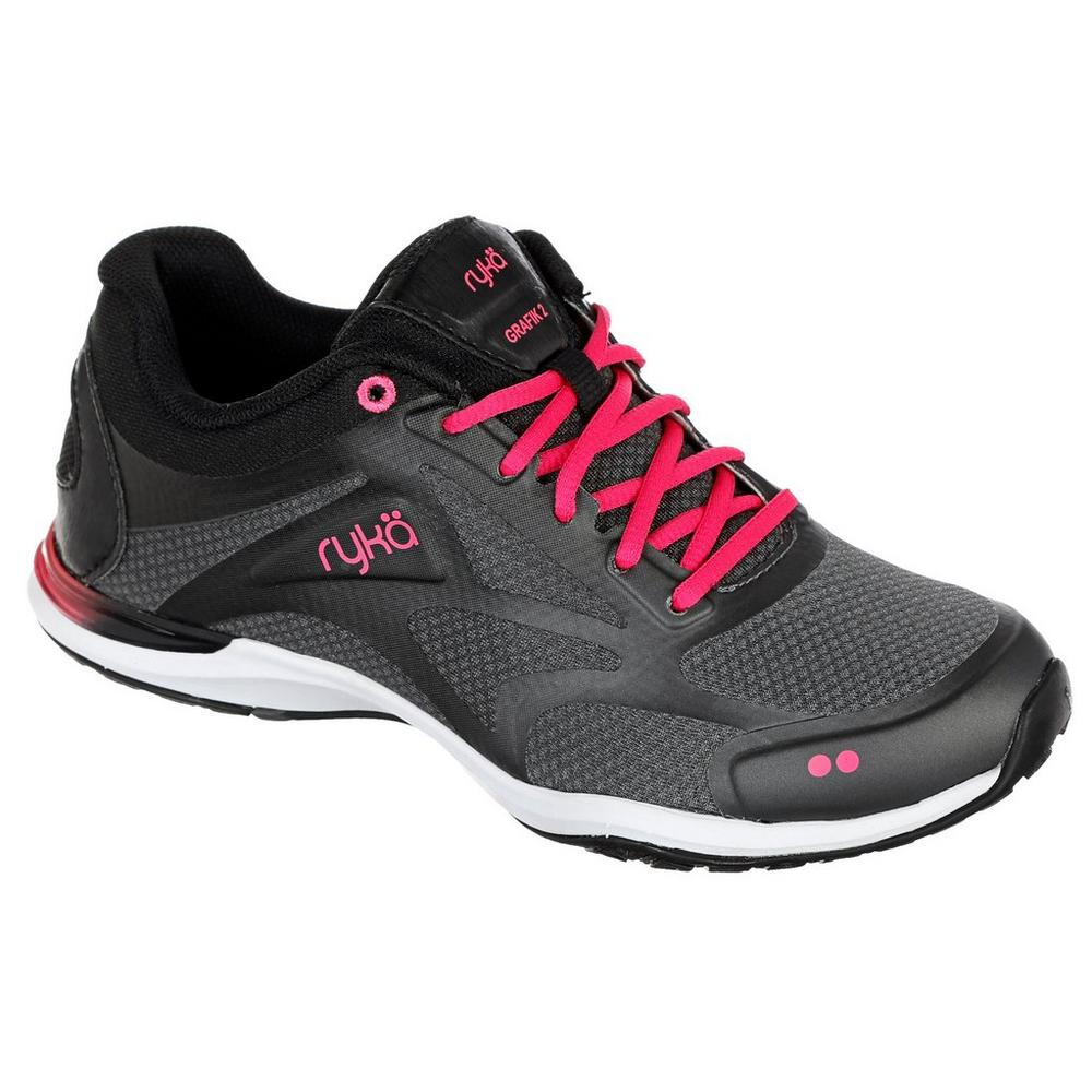 fb4eaf7282f Shoes · Sneakers   Athletic    Grafik 2 Training Sneakers - Grey Pink.  Click to zoom. Ryka