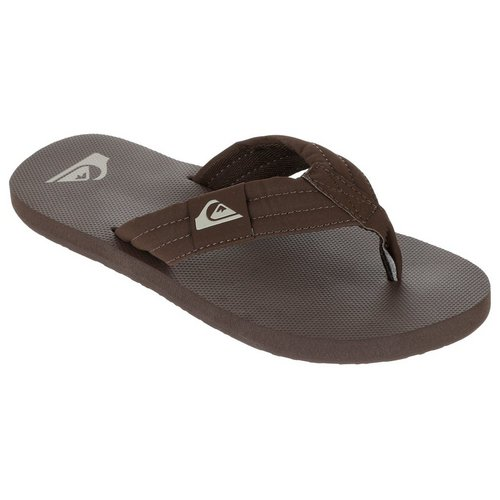 eb7d313b6 Quilted Thong Flip Flops - Brown