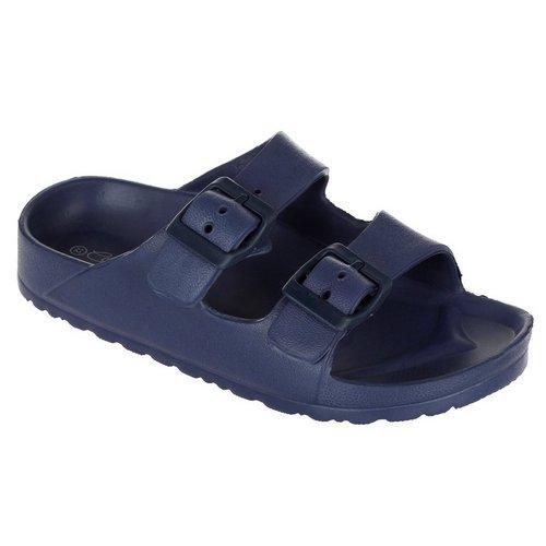 ee1e4b99176f Boys Buckle Strap Sandals - Navy