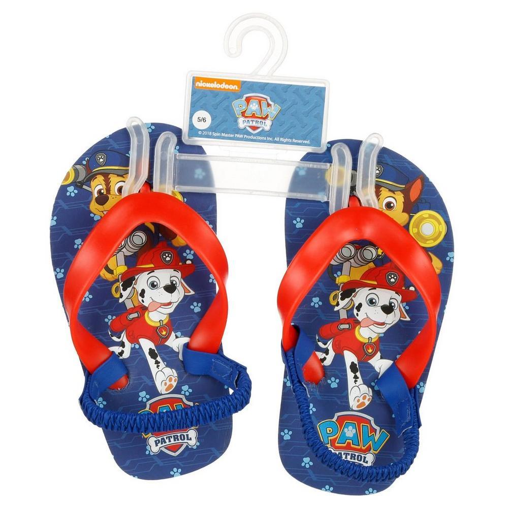 29c616e502ef5 Boy's Paw Patrol Flip Flops - Red   Burkes Outlet