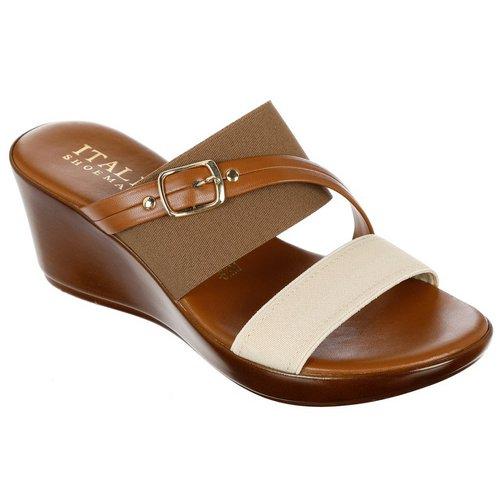 Vivid Wedge Sandals - Tan a73455d53
