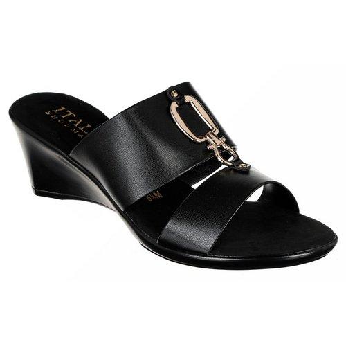 Voyage Wedge Sandals - Black c519bcdc9