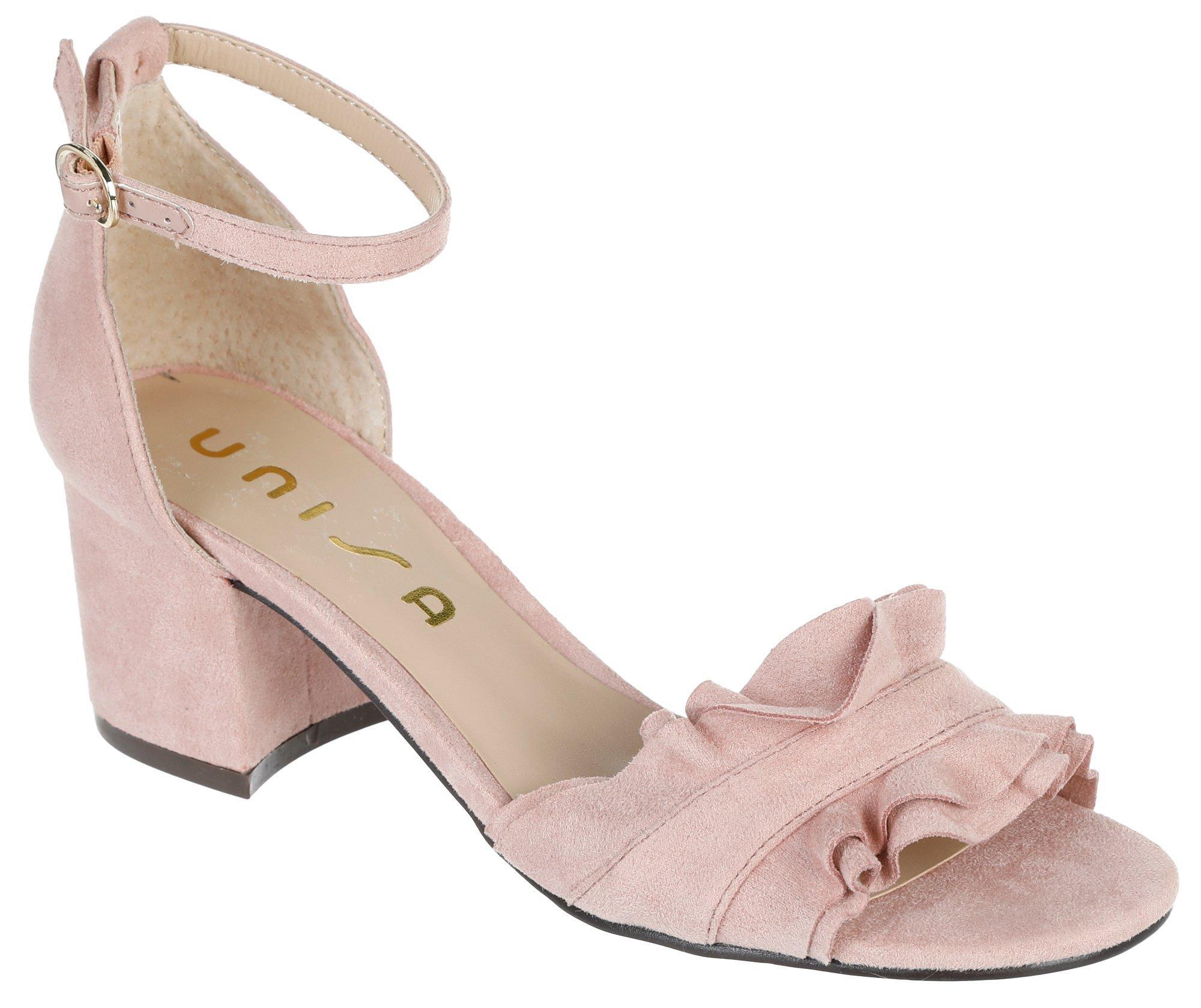 dbb6f19ea4d Riley Jeweled Heels - Silver