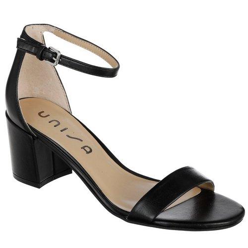 3a87af1972 Rewni Single Band Heels - Black