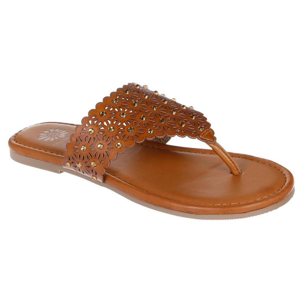 4b6d6e2c0a0 ... Tessie Embellished Thong Sandals - Brown. Click to zoom. Yellow Box