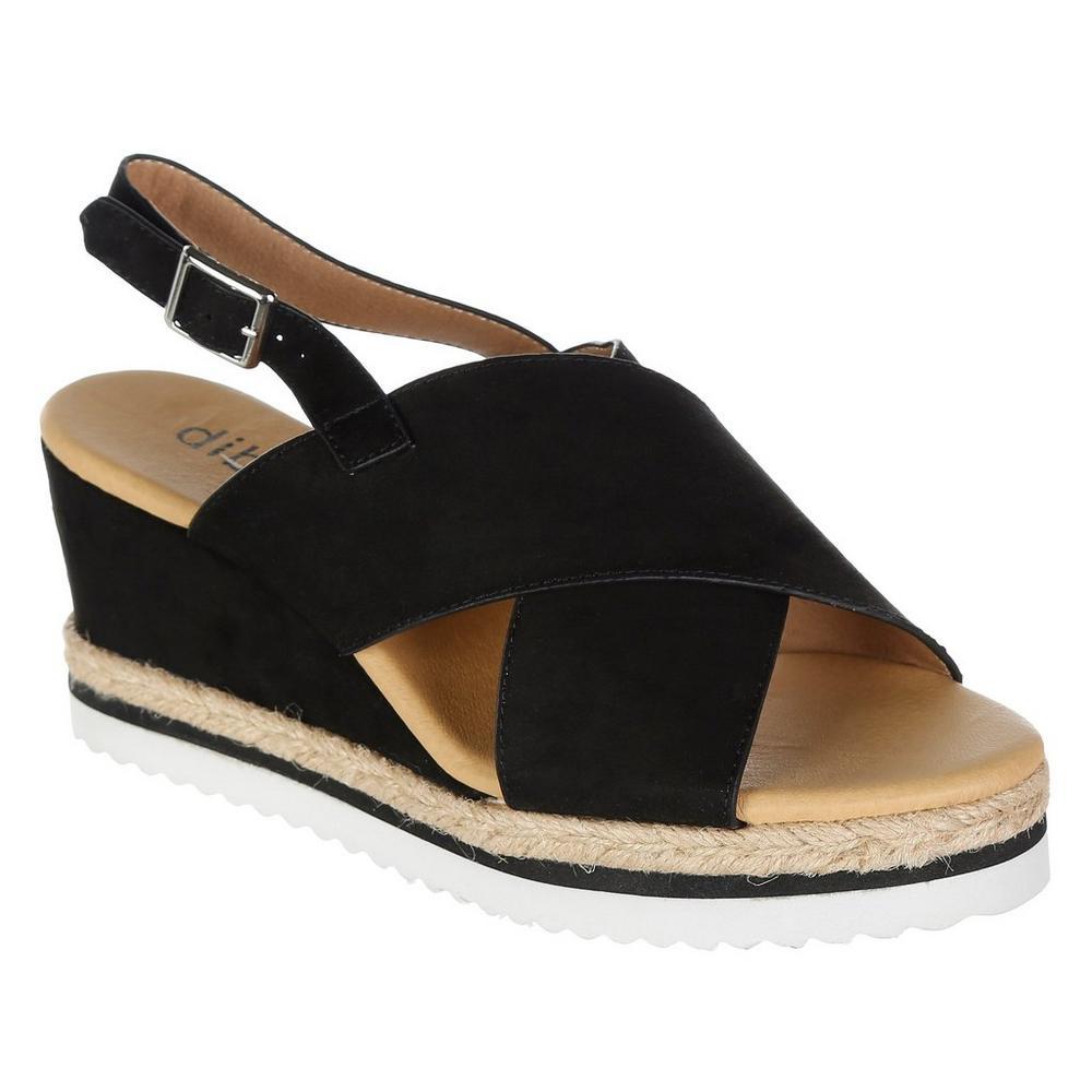 Chalon Wedge Wedge Sandal Platform Platform Chalon Black QrtsxhdCB