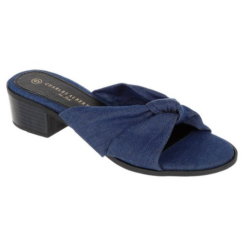 7f58eedf6d25 Miranda Sandal Heels - Denim