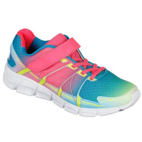 e03716984 Girls Speed Glide Strap Sneakers - Pink Multi