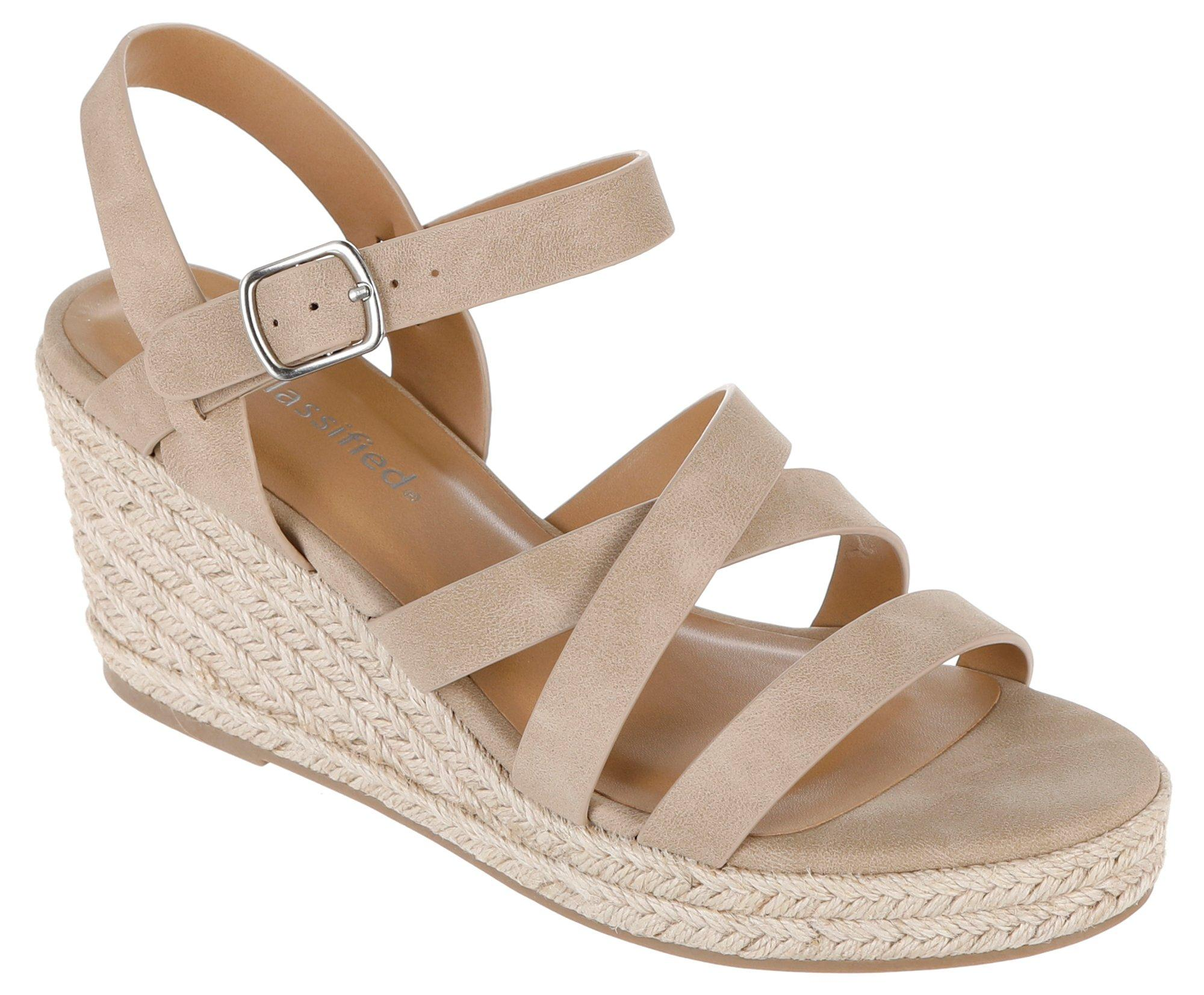 9049ec650 City Classified. Jubilee Wedges - Natural