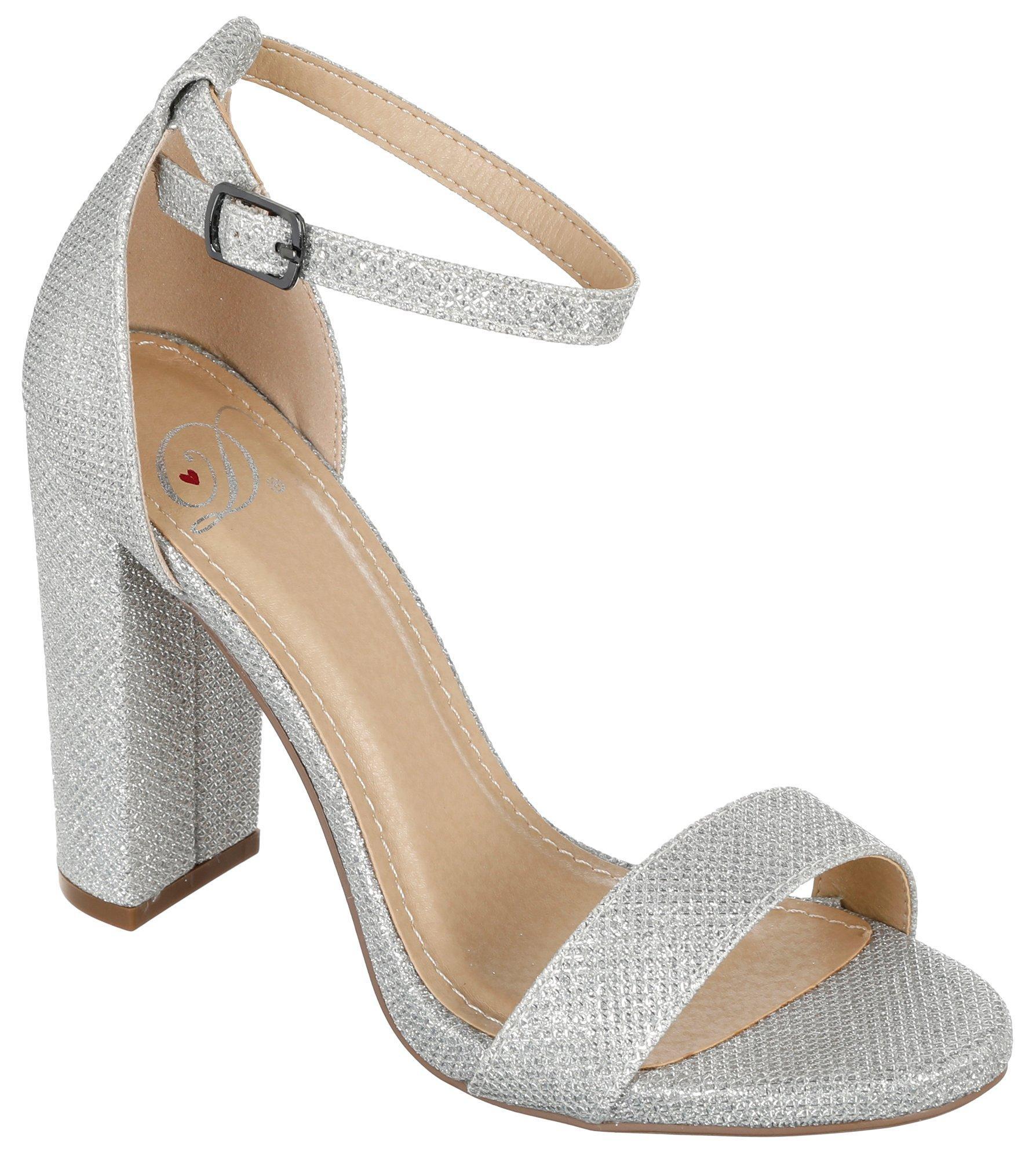 156606f380a Dynamic. Shiner Heels - Silver