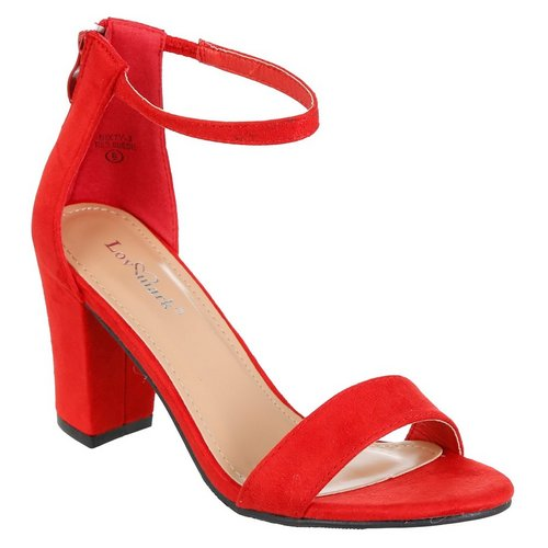 5f8ed77b3c0 Nixty Single Band Heels - Red
