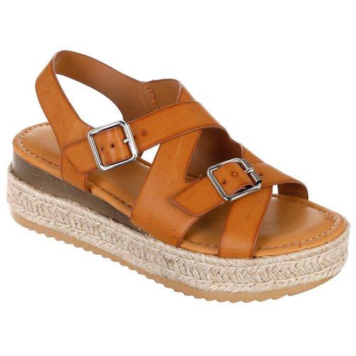 Motivate Platform Sandals - Tan 52b1c1bfb