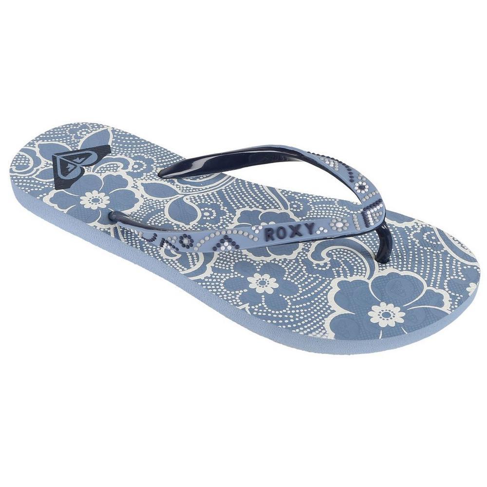 3c0df4489 Hawaiian Flip Flops - Blue