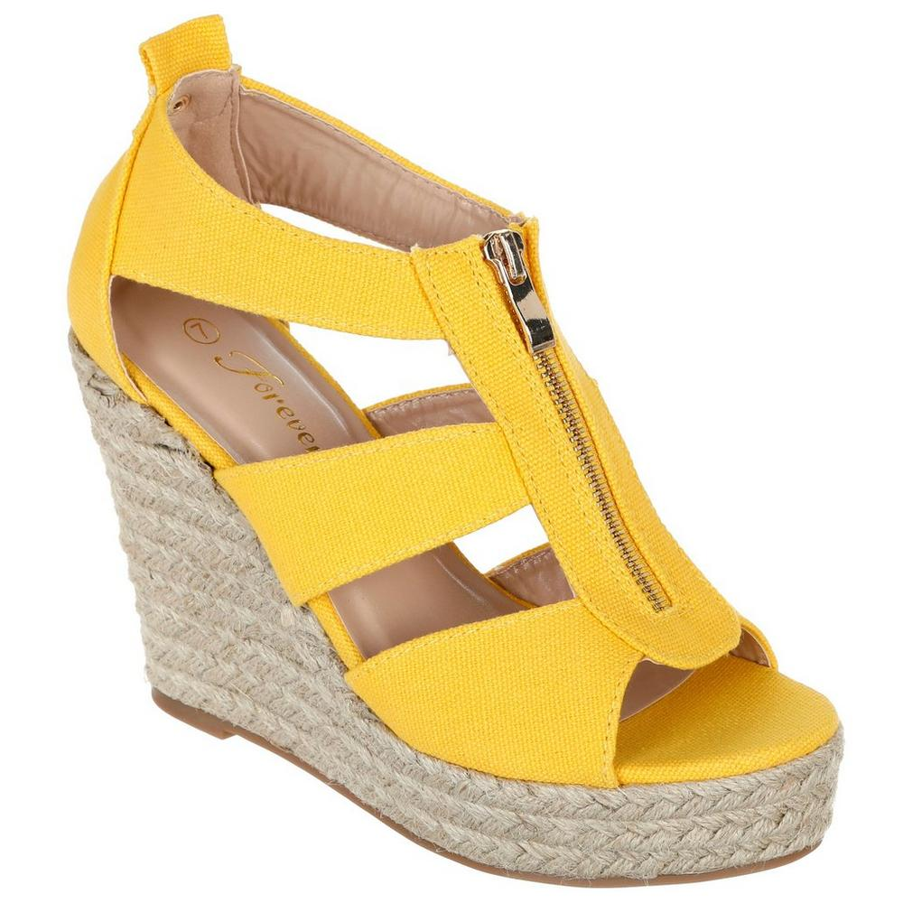 71d0ff3097e Damita Wedges - Mustard | Burkes Outlet