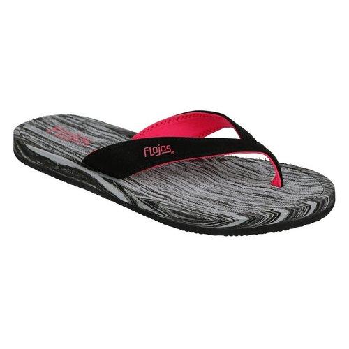 aafa10927ffed Finley Comfort Flip-Flops - Black Pink