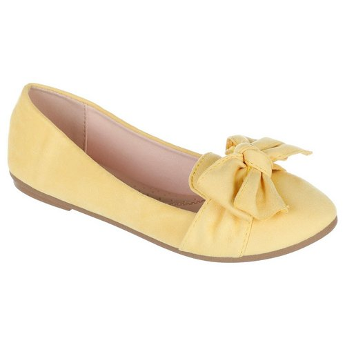 63693d13dea Supple Bow Flats - Mustard