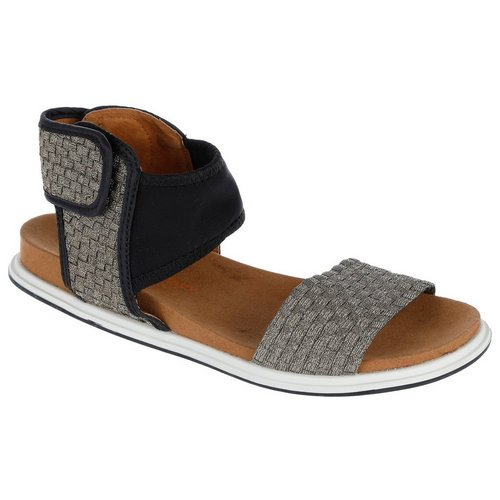 c1ee852e2 Bianca Footbed Sandals - Silver Gold