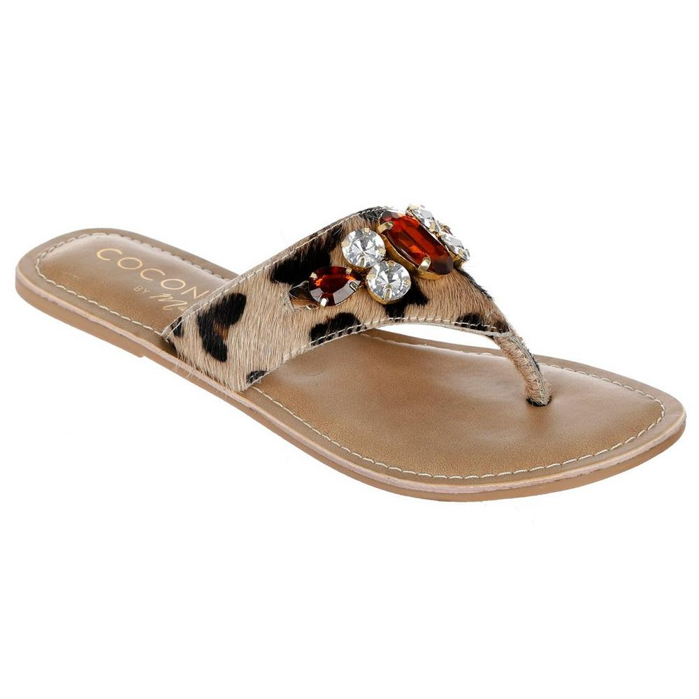 3650faab3 Bam Bam Jeweled Sandals - Natural
