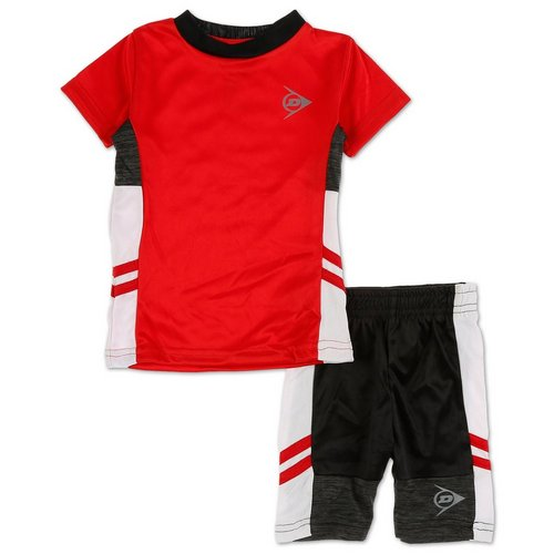 26337bd30 Boys Active 2 Pc Shorts Set - Red (12-24M)