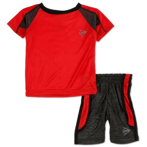 b595b1eecf Boys Active 2 Pc Shorts Set - Red (12-24M)