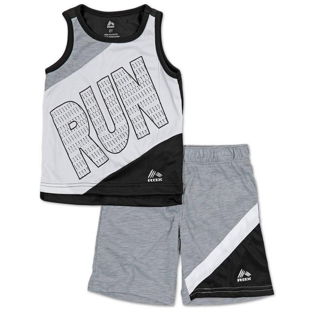 ab765a60b1 Boys Active 2 Pc Run Color Block Shorts Set - Multi (2-5T)