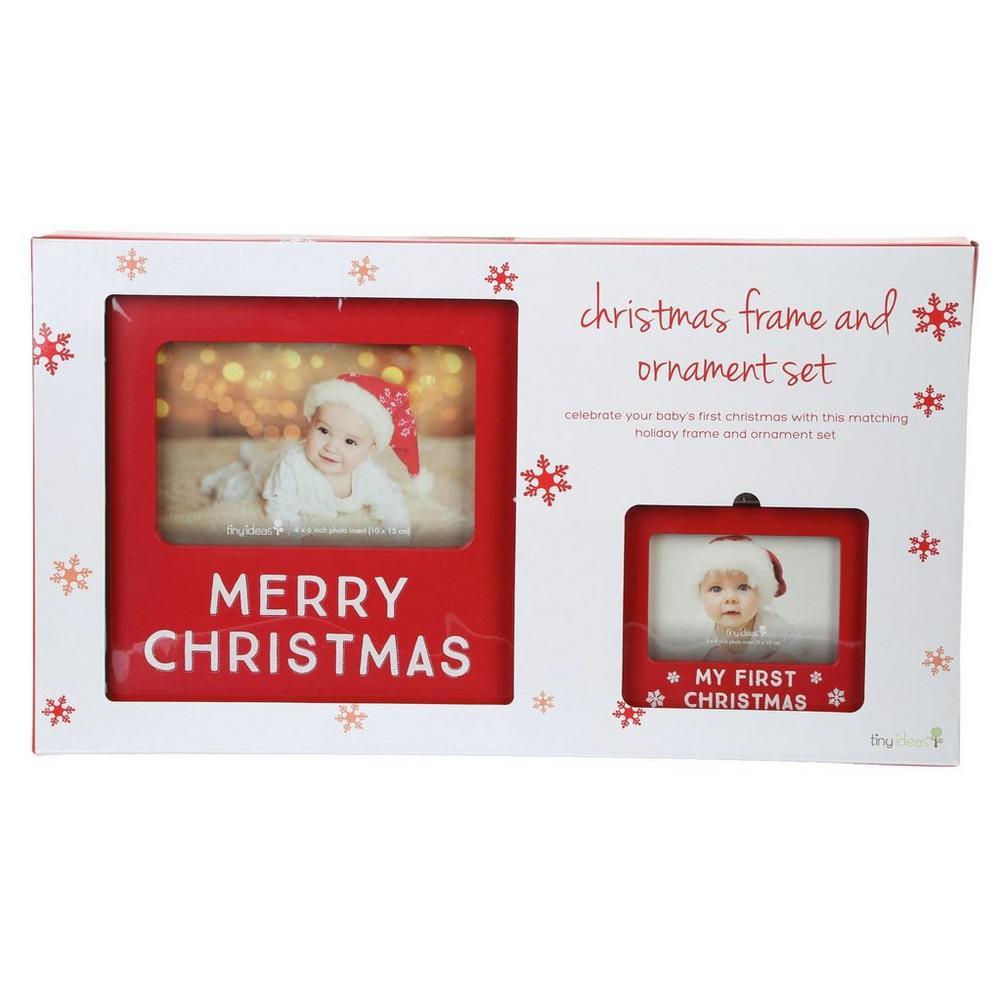 Christmas Frame & Ornament Set | Burkes Outlet