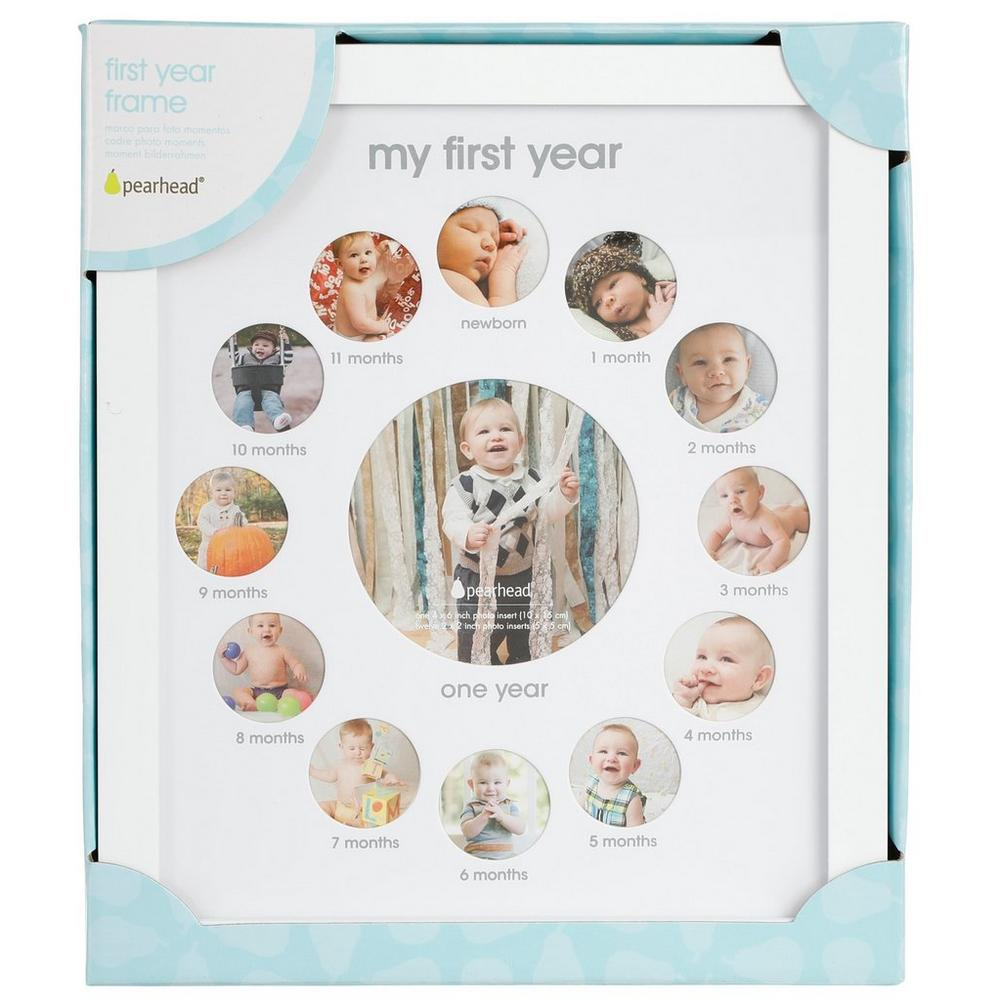e5491a7143c Baby s First Year Frame - White