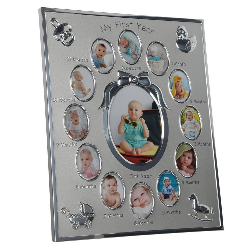 ededc4be62a My First Fear Photo Frame - Silver