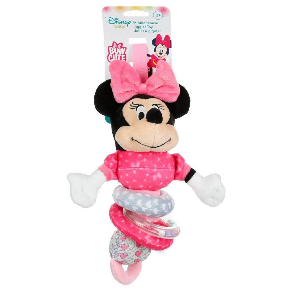 Minnie Mouse Jiggler Toy - Pink