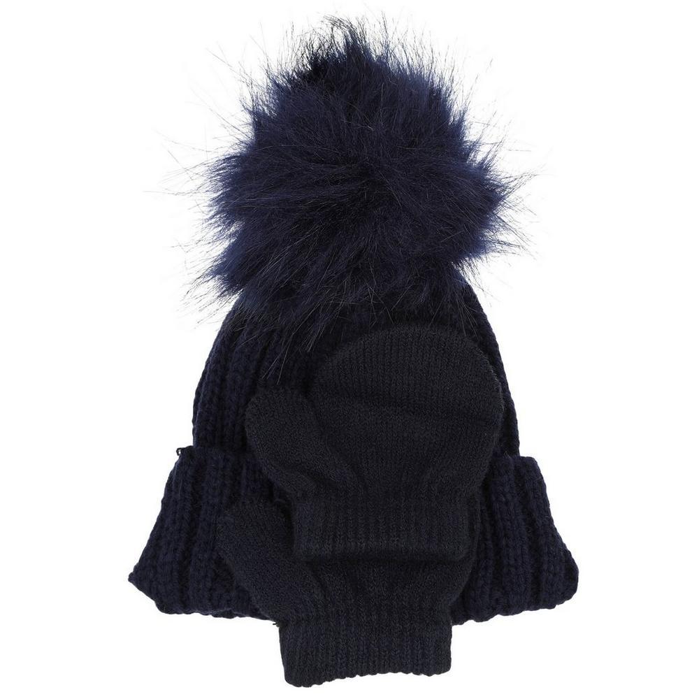 6c7270b7ccd Baby Hat   Mitten Set - Blue