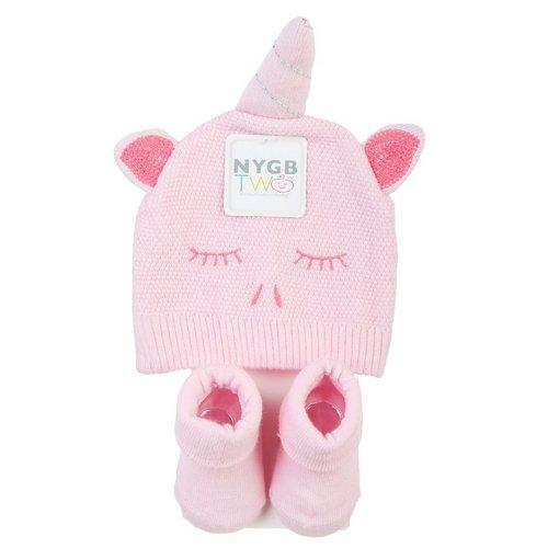 Infant Unicorn Hat   Socks Set - Pink 8e1c5a9dd296
