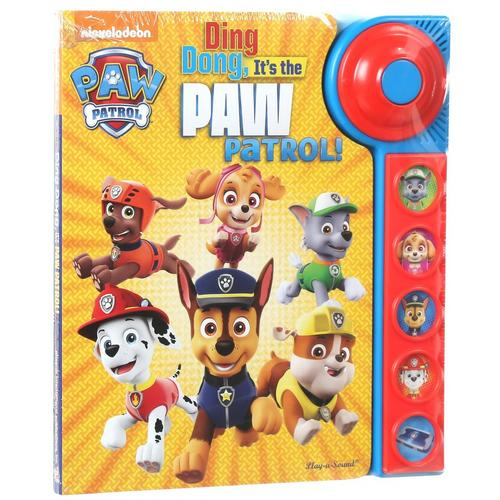 Ding,Dong Its's The Paw Patrol! - Sound Effects Book