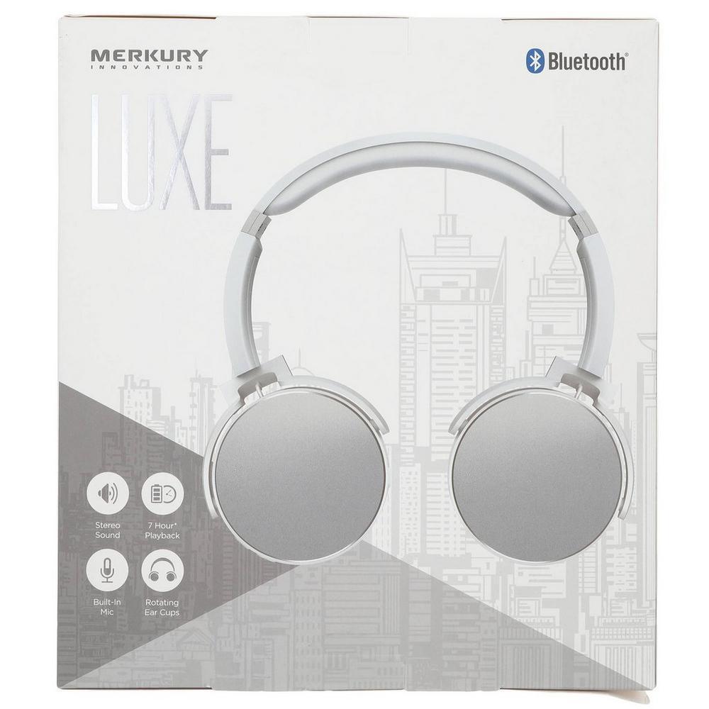 ff0de37f5f8 ... Luxe Metallic Headphones - Silver. Click to zoom