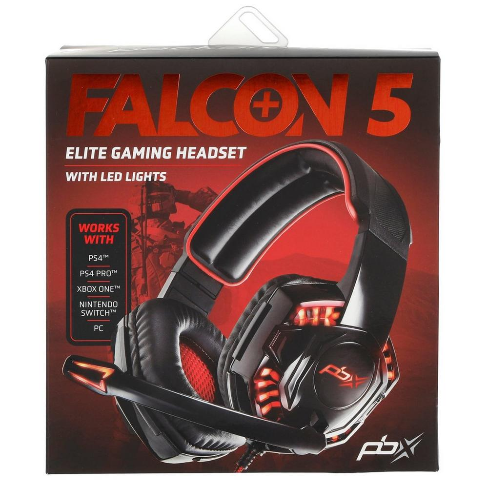 Falcon 5 Elite Gaming Headset w/ LED Lights