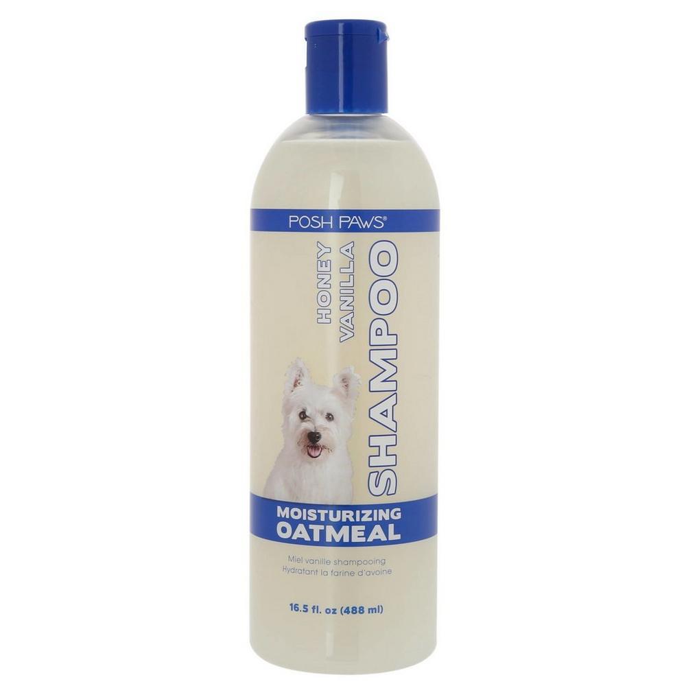 Moisturizing Oatmeal 16 5 oz Pet Shampoo - Honey Vanilla