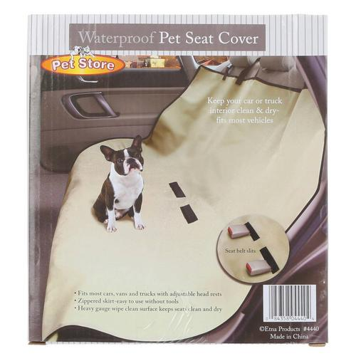 Peachy Waterproof Pet Seat Cover Beige Onthecornerstone Fun Painted Chair Ideas Images Onthecornerstoneorg