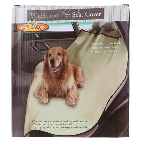 Fantastic Waterproof Pet Seat Cover Beige Onthecornerstone Fun Painted Chair Ideas Images Onthecornerstoneorg