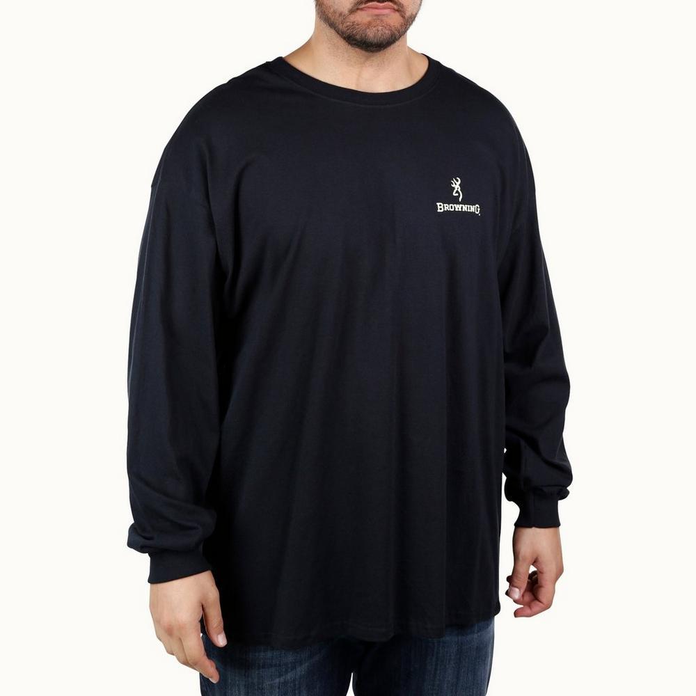 145f8011b8a Men s Big   Tall USA Logo Graphic Long Sleeve Tee - Black