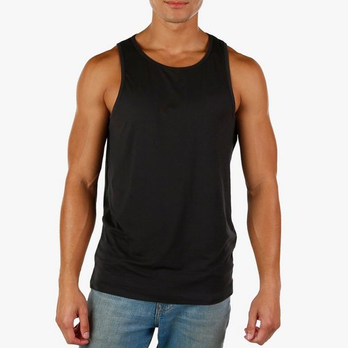 6b166212395191 Men s Performance Solid Tank - Black