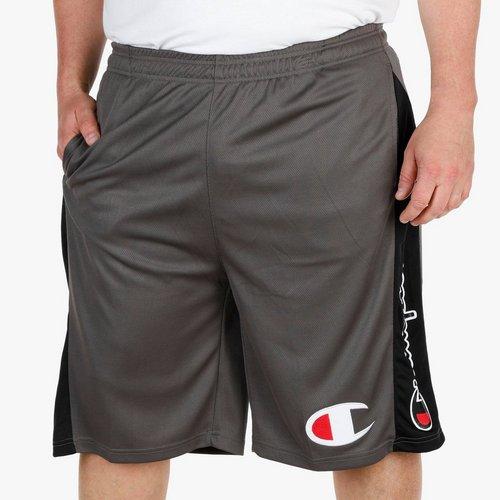 f907a9a5fc Men s Big   Tall Active Logo Mesh Shorts - Grey