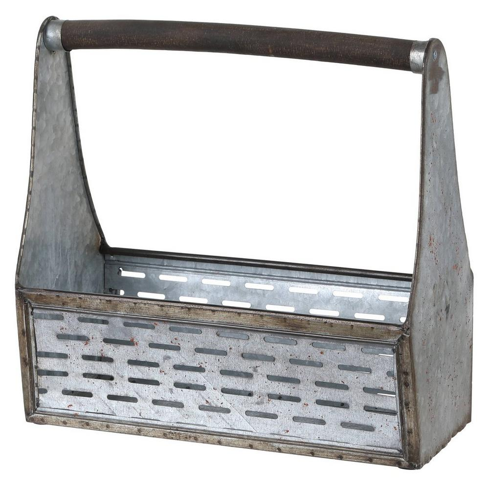 15 Galvanized Tool Box Planter Burkes Outlet