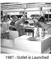 1987 Outlet Store launch