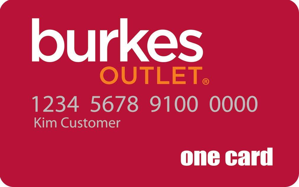 Burkes Outlet Credit Card