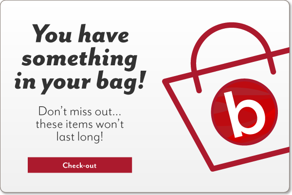 You have something in your bag! Checkout Now so you don't miss out.