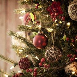 Tree Ornaments, Lights, & Tree Decorations