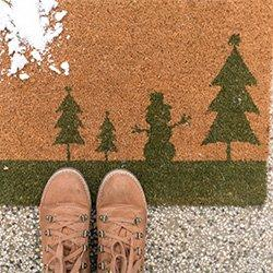 Christmas Rugs & Door Mats