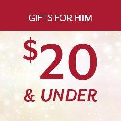 Gifts Under $20 for Guys