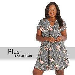 7a41ef9d77 New Arrivals in Plus Size Clothing