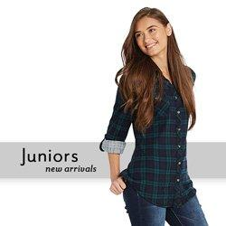 2c514046a22 ... favorite junior clothing store. New Arrivals in Juniors